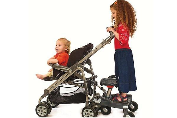 Ride On Stroller Board With Seat
