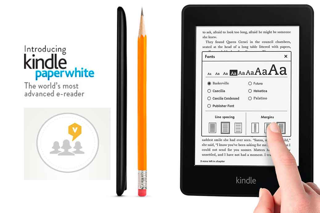The Viewpoints Blogger Reviews Panel Tests the Paperwhite