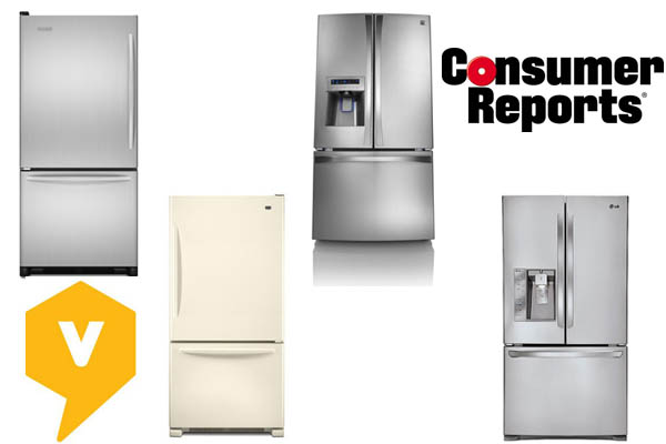 Top refrigerators
