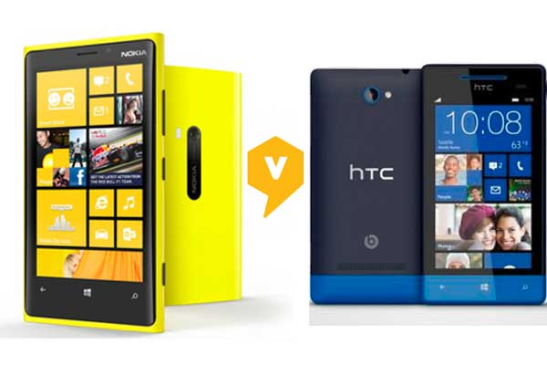 Comparison of Lumia 920 and HTC 8X smartphones