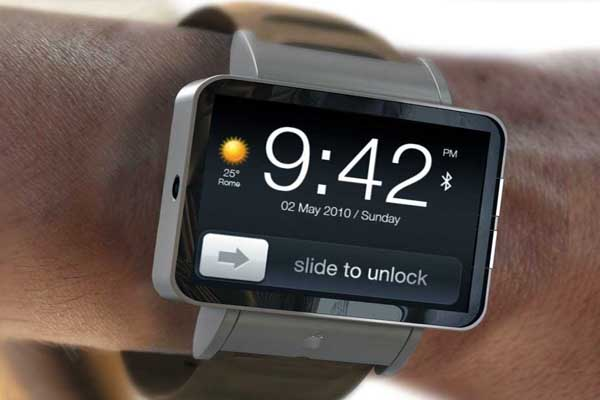 Just one concept design of the rumored Apple iWatch.