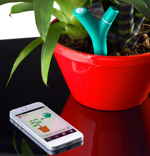 Parrot innovation to tell you when to water plants