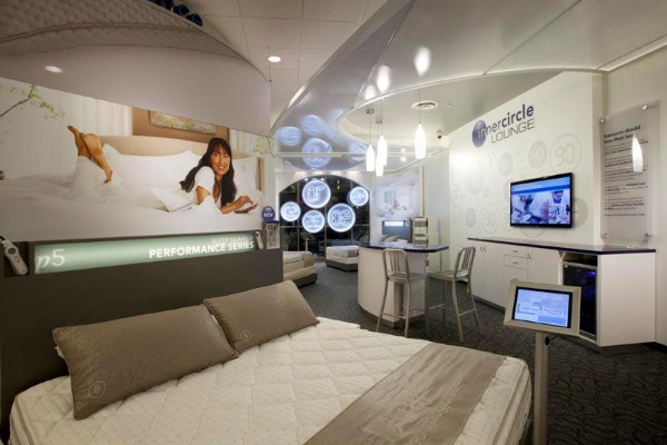 sleep number bed showroom