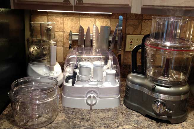 KitchenAid vs. Cuisinart food processors