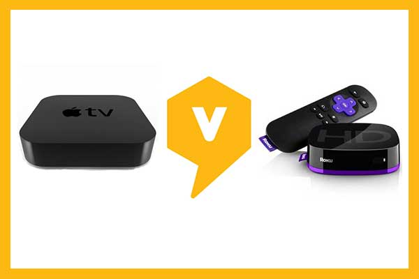Apple TV vs. Roku