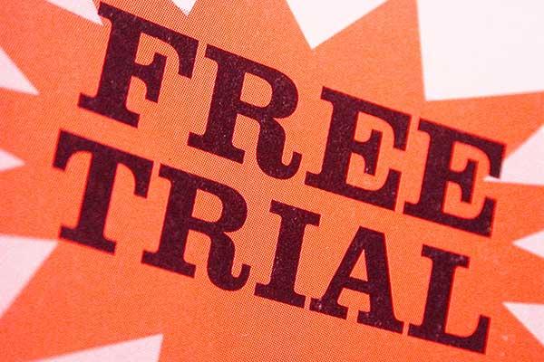 online free trial