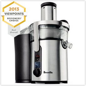 Breville Ikon Multi-Speed Juice Fountain Juicer BJE510XL Reviews