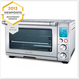 Breville The Smart Oven 1800-Watt Convection Toaster Oven BOV800XL