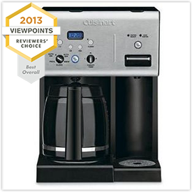 Cuisinart Coffee 12-Cup Programmable Coffee Maker with Hot Water System CHW-12