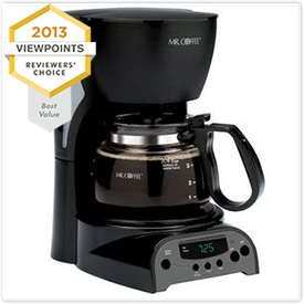 Mr. Coffee 4-Cup Programmable Coffee Maker DRX5