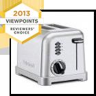 Cuisinart Metal Classic 2-Slice Toaster CPT-160