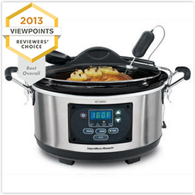 Hamilton Beach Set 'n' Forget 6-Quart Programmable Slow Cooker 33967