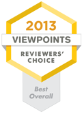Reviewers' Choice award - Best Overall