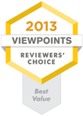 Reviewers Choice Best Value award