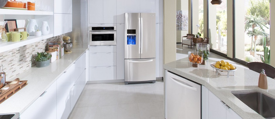 Kitchen Design Articles White Contemporary Kitchen In The Interior Interior Design