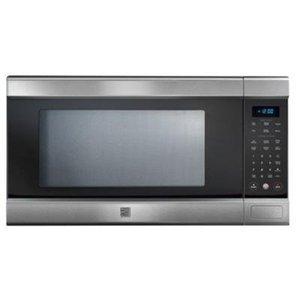 Best Microwave Under 100 Kenmore Elite Stainless Steel 1 5 Cu Ft Countertop W Truecookplus Technology