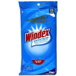 Windex Original Glass and Surface Wipes