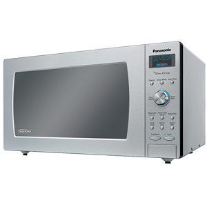Panasonic 1250 Watt 1 6 Cubic Feet Inverter Microwave Oven Nn Sd797s