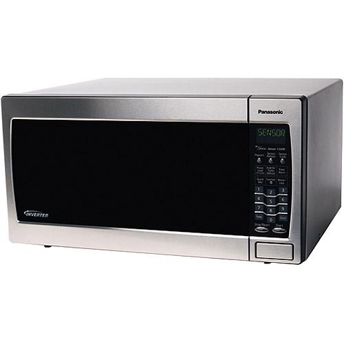 Panasonic 1250 Watt 1.6 Cubic Feet Inverter Microwave Oven NN-SN778S