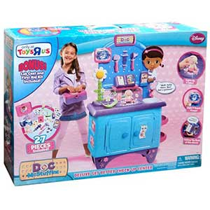 Just Play Doc McStuffins Deluxe Get Better Check-Up Center