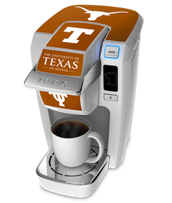 The University of Texas Keurig Mini, available for $99.99