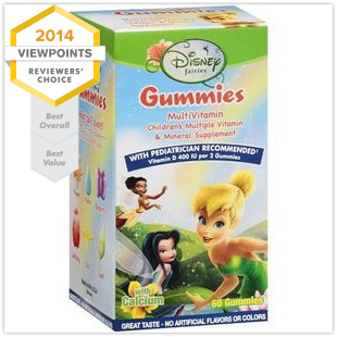 Top Multivitamins Disney Fairies Multivitamin Gummies with Calcium