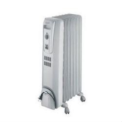DeLonghi Portable Oil-Filled Electric Radiator Heater TRH0715