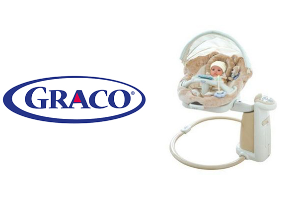 graco giraffe baby swing