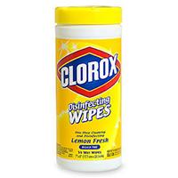 Clorox Lemon Fresh Disinfecting Wipes
